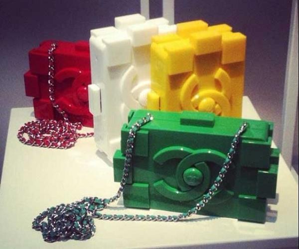 Элитный летний клатч Chanel Lego Clutch