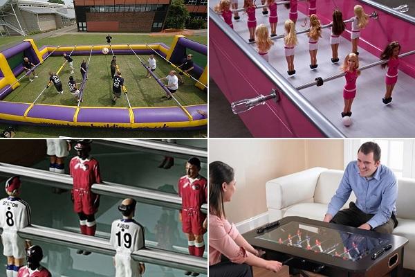 Креативные версии настольного футбола