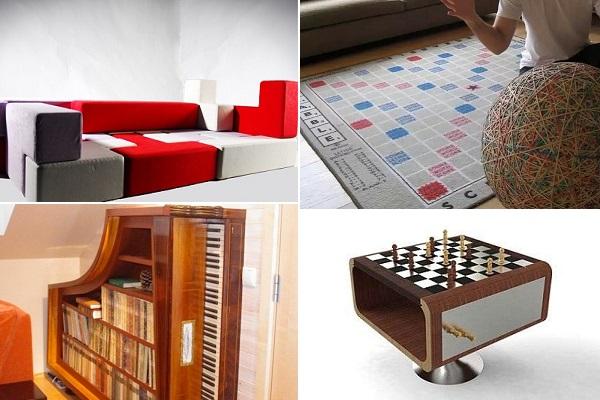 Креативная мебель для любителей поиграть
