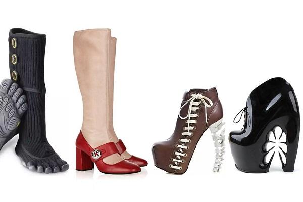 Самая оригинальная зимняя обувь от современных дизайнеров