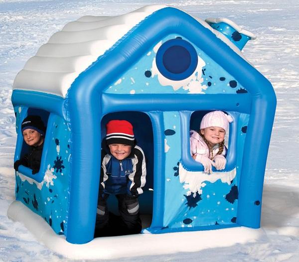Toy igloo – надувной 'снежный' домик для зимних игр на свежем воздухе