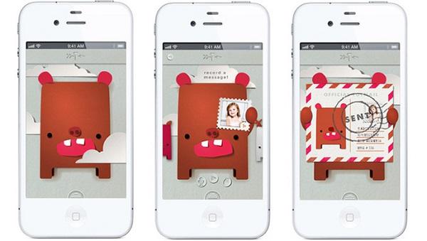 Приложение toymail для родительского iPhone