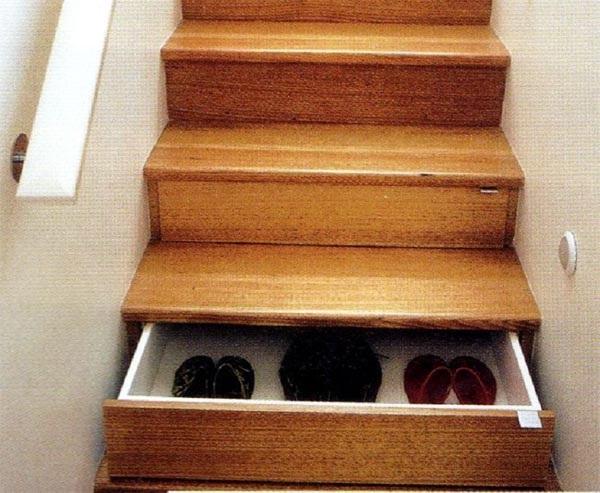 Лестница-полка для обуви и полезных мелочей Unicraft Joinery Step Drawers