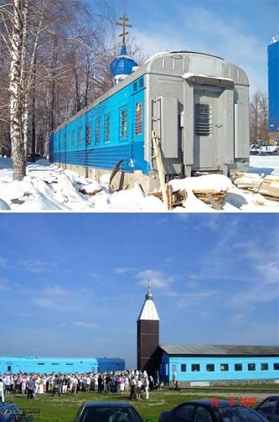 Православная церковь-поезд в России
