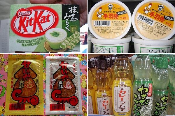 Необычные японские сладости