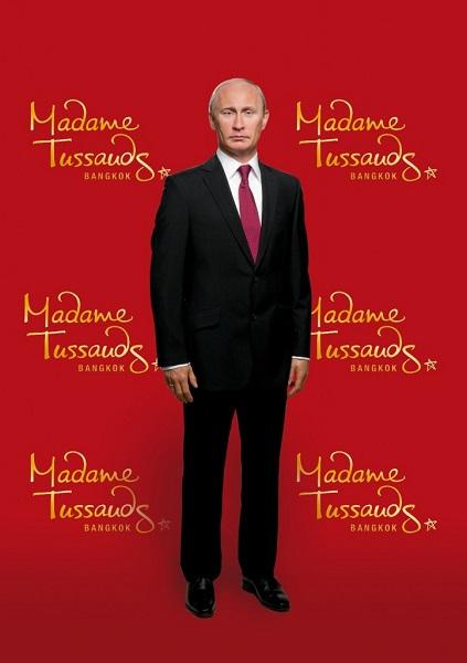 Восковая скульптура Владимира Путина в Madame Tussauds museum в Бангкоке