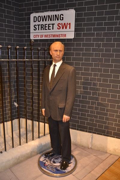 Восковая скульптура Владимира Путина в лондонском филиале Madame Tussauds museum
