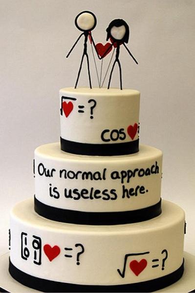 Свадебный торт XKCD