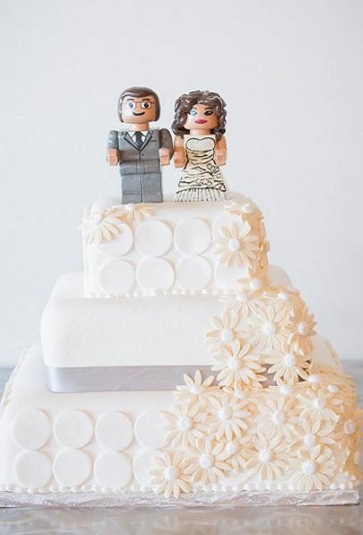 Свадебный торт Lego
