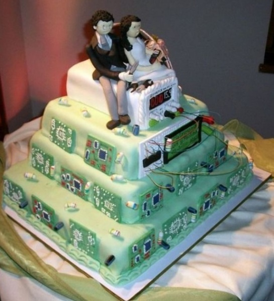 Свадебный торт Nerds