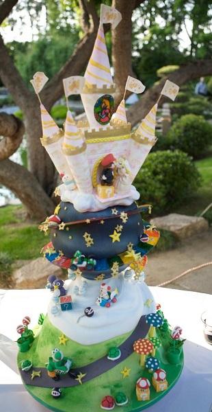Свадебный торт Super Mario