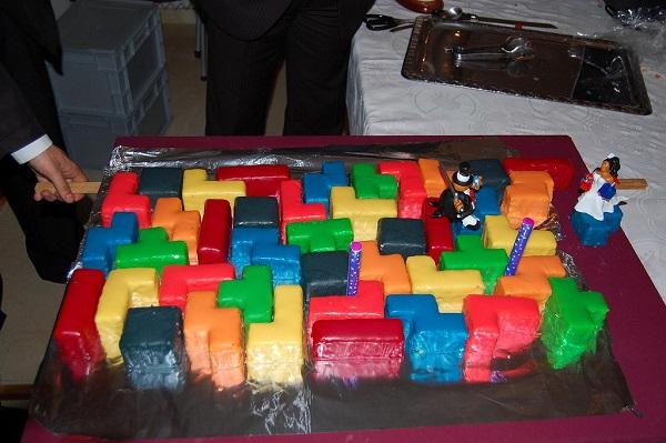 Свадебный торт Tetris