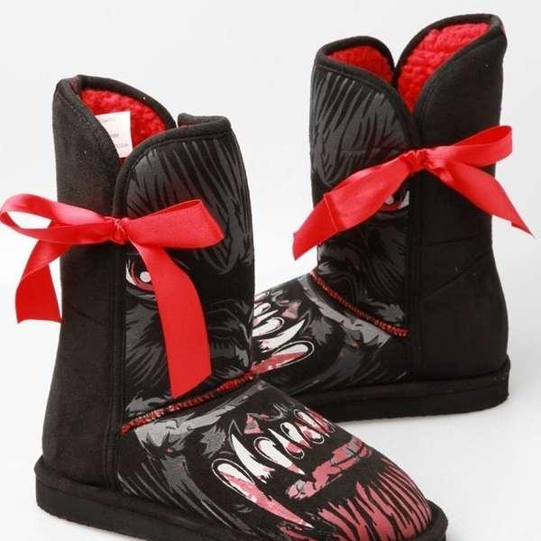 Клыкастые угги Wolfbeater Vegan Fug Boot - обувь для героинь страшных сказок