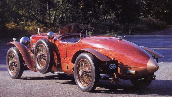 Деревянный автомобиль Tulipwood Torpedo от Hispano-Suiza
