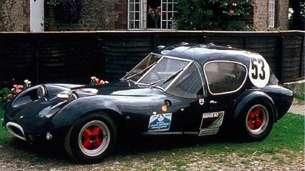 Деревянный гоночный автомобиль Marcos GT Xylon