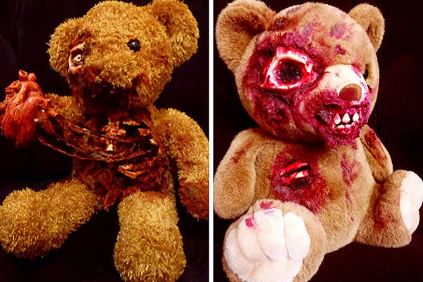 Мишка-зомби от Undead Teds