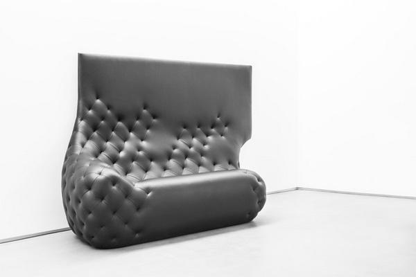 """Коллекция """"Monochromes"""": диван, перетекающий в картину"""