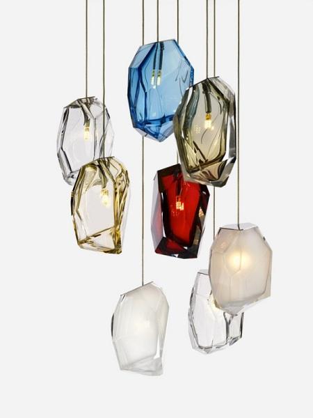 Оригинальный светильник Crystal Rock.