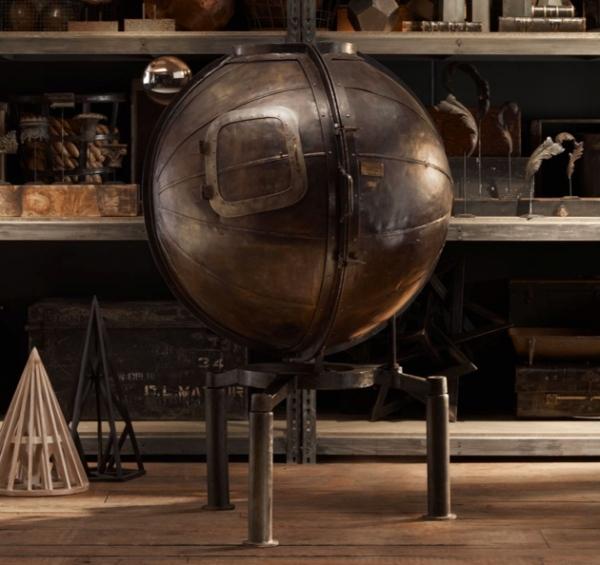 Винный бар из немецкого тестера напряжения  в стиле Стимпанк