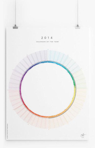 Вращающийся календарь