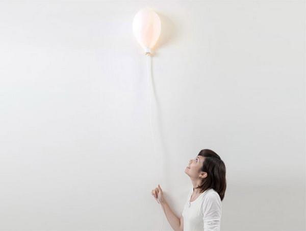 Лампа - воздушный шарик