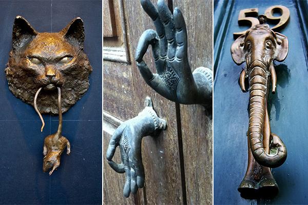 обзор необычных дверных ручек
