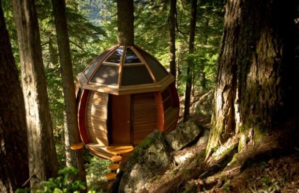 Hemloft домик на дереве