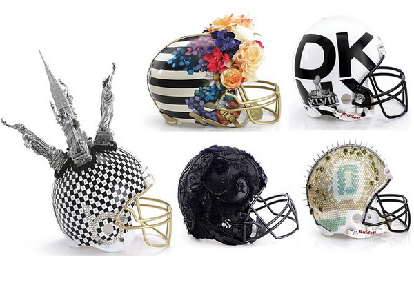 Шлемы для чемпионата Super Bowl XLVIII