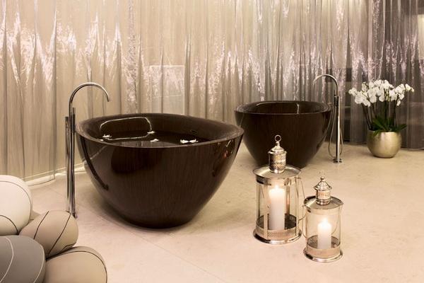 Оригинальные деревянные ванны от компании Alegna