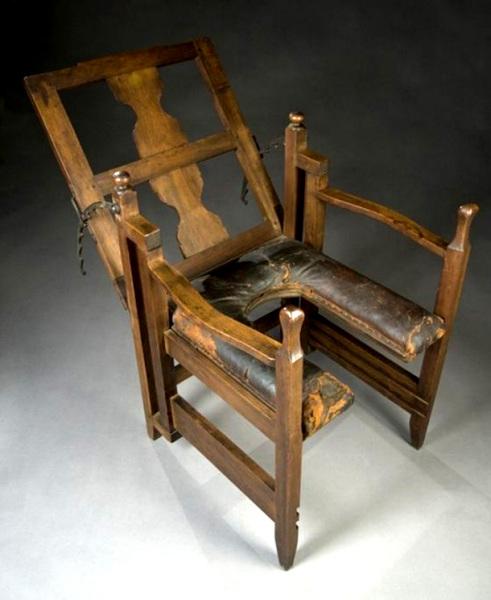 гинекологическое кресло пытки