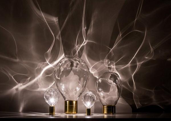 """Коллекция ламп """"Ripple Light"""", превращающая комнату в морское дно"""