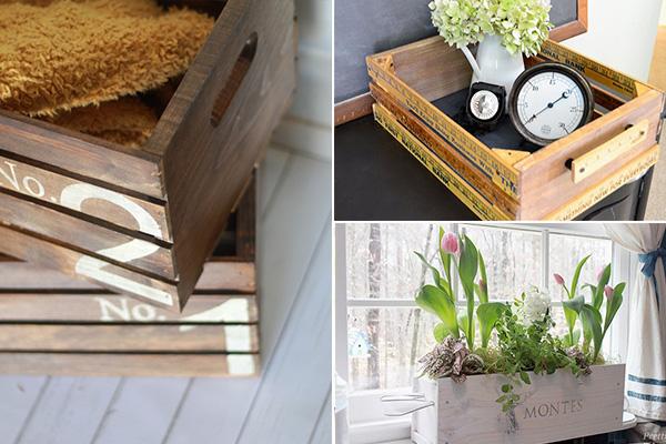 обзор изделий, сколоченных из деревянных ящиков