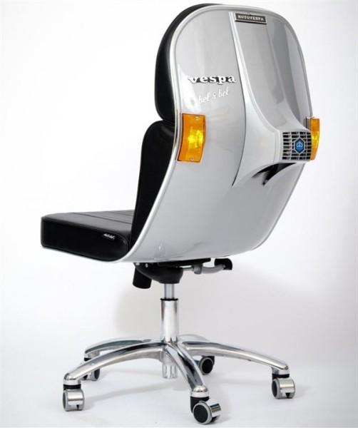 Офисное кресло BV из скутера Vespa от Bel&Bel