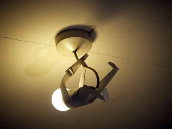 настольные лампы в виде человечков