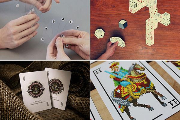 Обзор необычных игральных карт