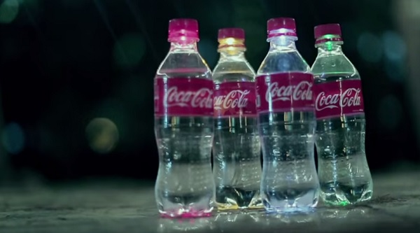 Светящиеся бутылки.