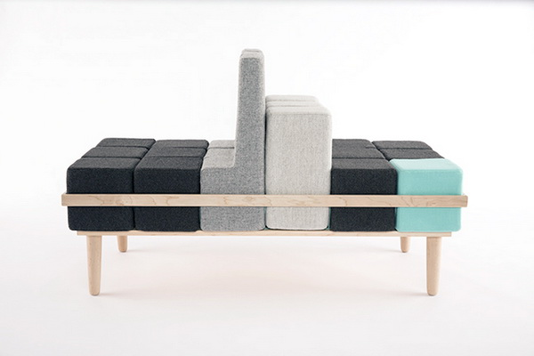 диван Bloc'd: для тех, кто любил собирать кубики