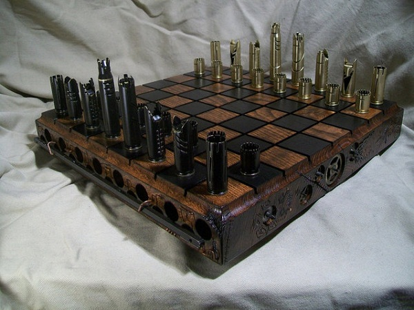 Самые милитаризованные шахматы