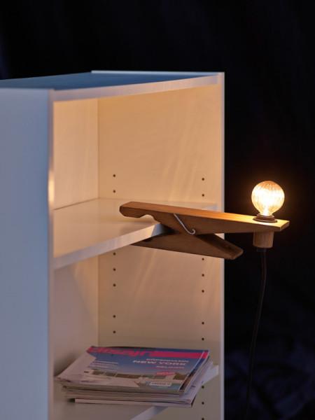 Оригинальный светильник ClampLamp