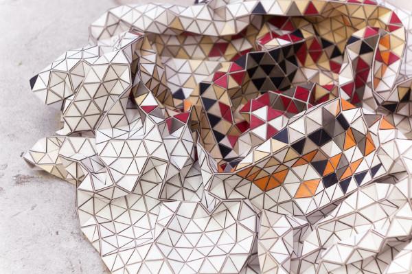 коллекция деревянных ковров от Elisa Strozyk