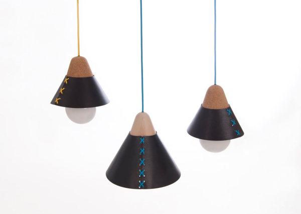 Лампа в корсете