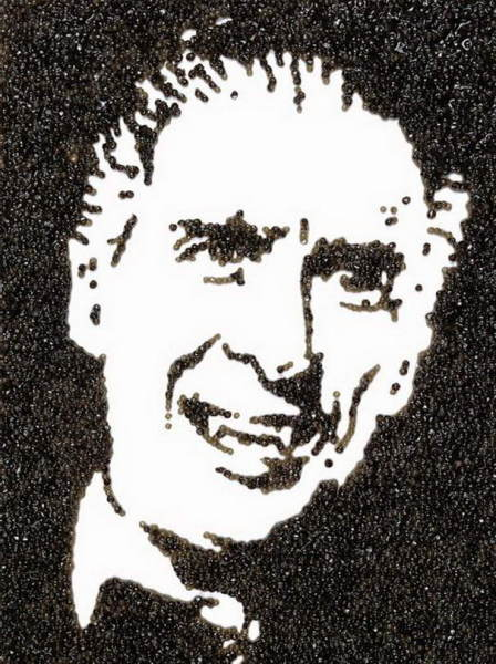Портрет Дракулы, написанный черной икрой