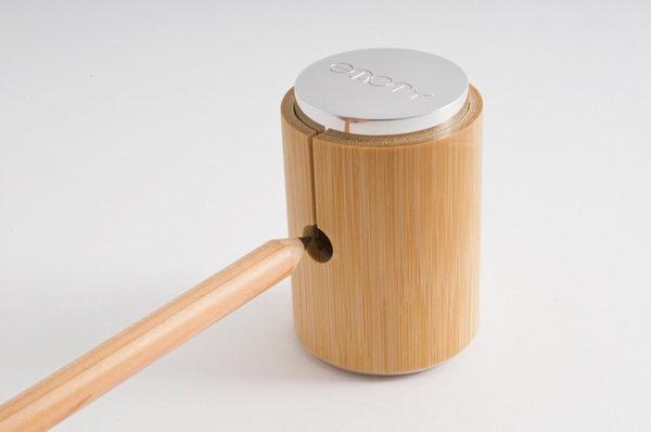 Точилка для карандашей из бамбука
