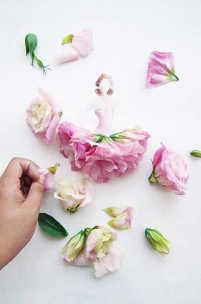 Живые цветы в коллекции Flowergirls.
