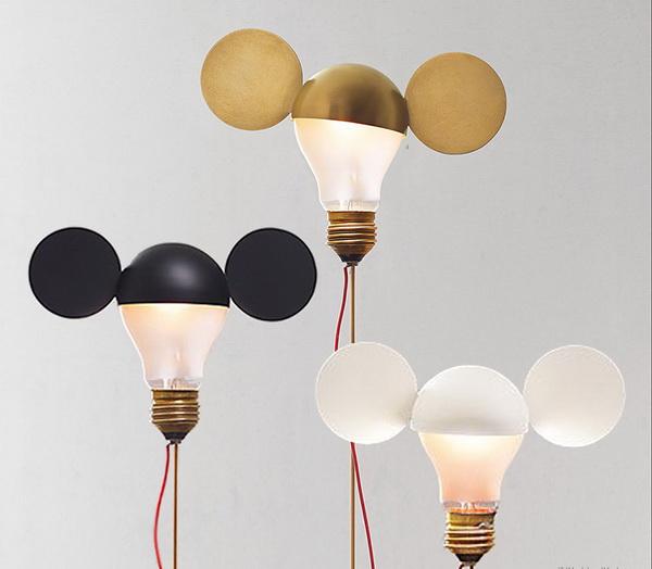 Светильники от Ingo Maurer.