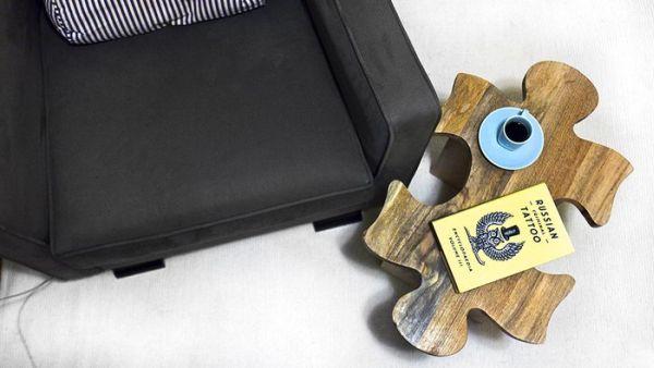 Табурет Jigsaw puzzle stool