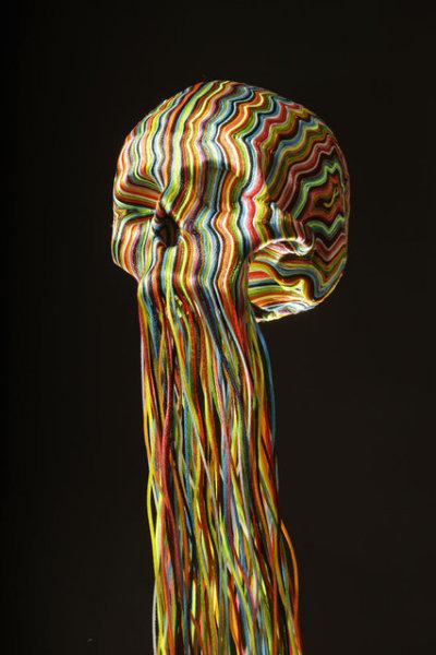 Плетеное творчество Jim Skull.