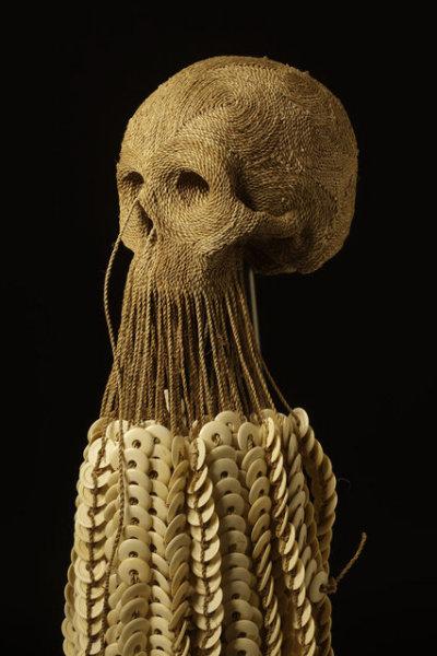 Черепа из ниток от Jim Skull.