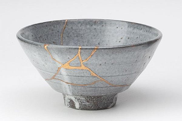 Новый вид искусства - Kintsugi.