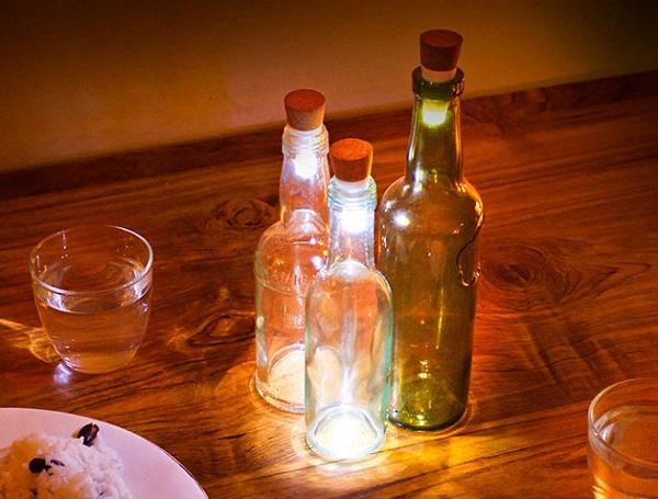 Светящиеся пробки LED Bottle Cork.